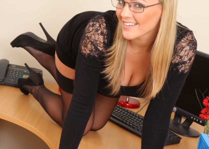 Jodie Gasson is the kind of secretary that every boss dreams of.